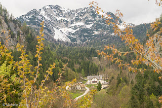 Salzbergwerk, mina de sal em Hallstatt, Áustria