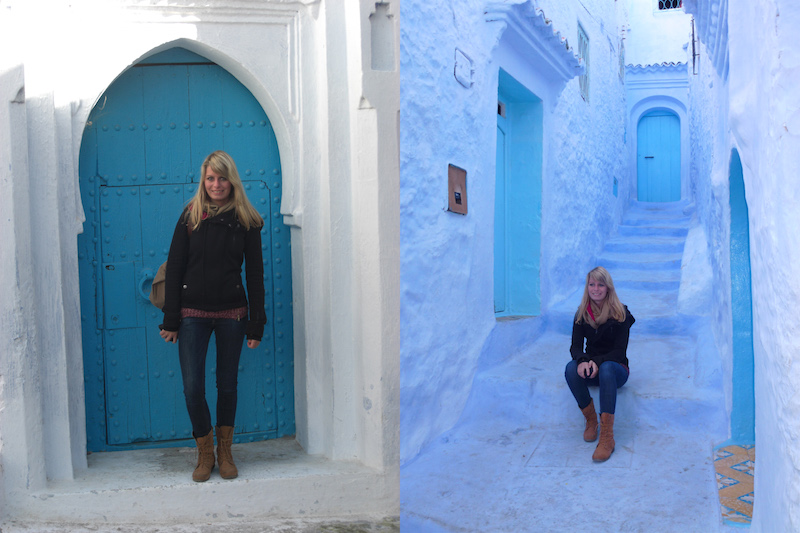 Person in Chefchaouen