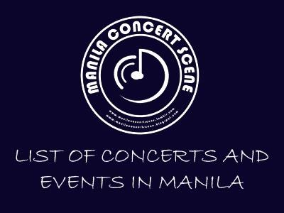 EVENTS ~ MANILA CONCERT SCENE