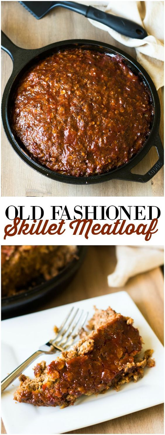 OLD FASHIONED SKILLET MEATLOAF RECIPES