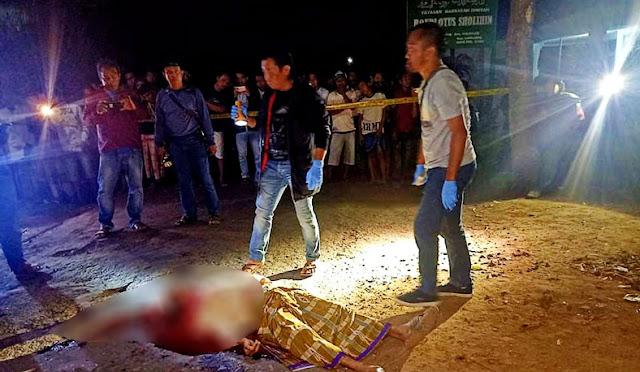 Kondisi mayat korban sebelum dievakuasi