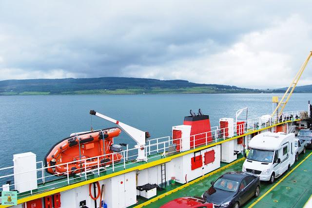 Ferry en Escocia