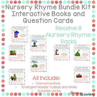 https://www.teacherspayteachers.com/Product/Nursery-Rhyme-Bundle-Kit-2073479