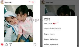 Cara Menyimpan Vidio di Instagram ke Galeri
