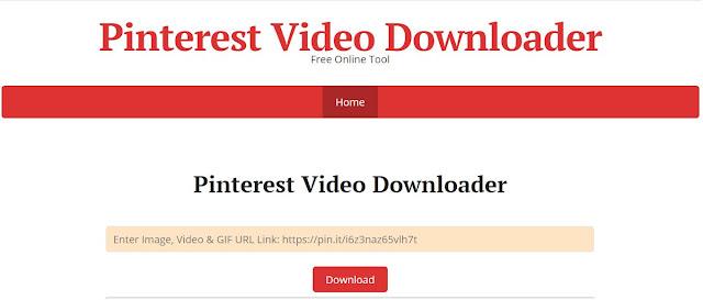 Para descargar vídeos de Pinterest descubrí esta herramienta que me encanta y la estoy usando para subir contenido al canal de tiktok de mi emprendimiento de pañuelos, EcuadorianScarff, la herramienta online a la que me refiero es Pinterest Video Downloader.