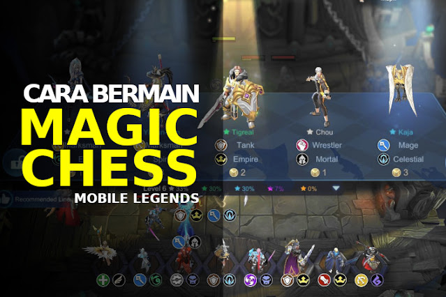 cara bermain magic chess mobile legends
