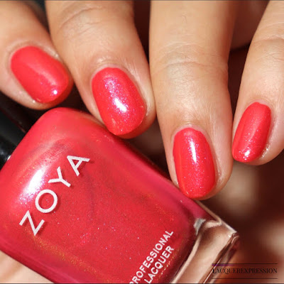 Nail polish swatch and review of Zoya Solstice from the winter 2017 Party Girls collection