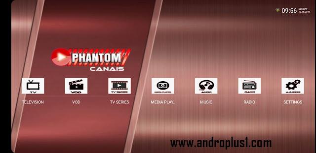 تحميل تطبيق phanthom canais لمشاهدة القنوات