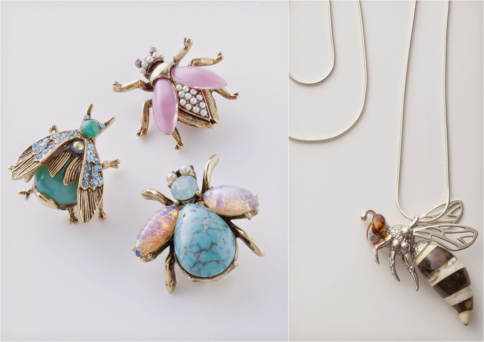 ARTifacts: Trending : Insect Jewelry