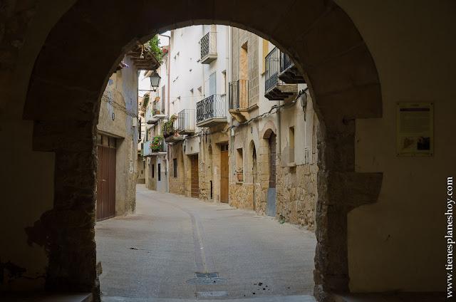 Ráfales viaje turismo Teruel pueblos con encanto Matarraña planes