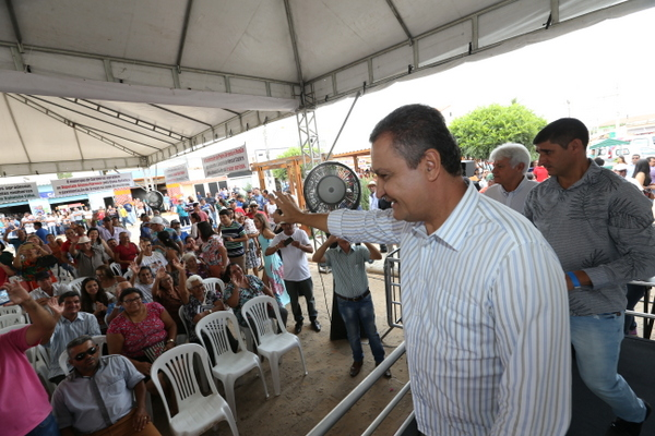 Governador Rui Costa visita Cordeiros