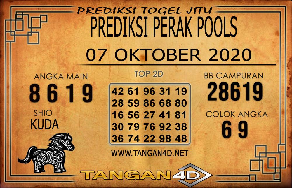 PREDIKSI TOGEL PERAK TANGAN4D 07 OKTOBER 2020