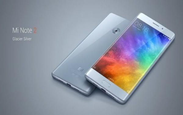 شياومي تكشف رسميا عن هاتفها الجديد Xiaomi Mi Note 2