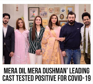 Complete Cast of 'Mera Dil Mera Dushman' tested Positive for Coronavirus