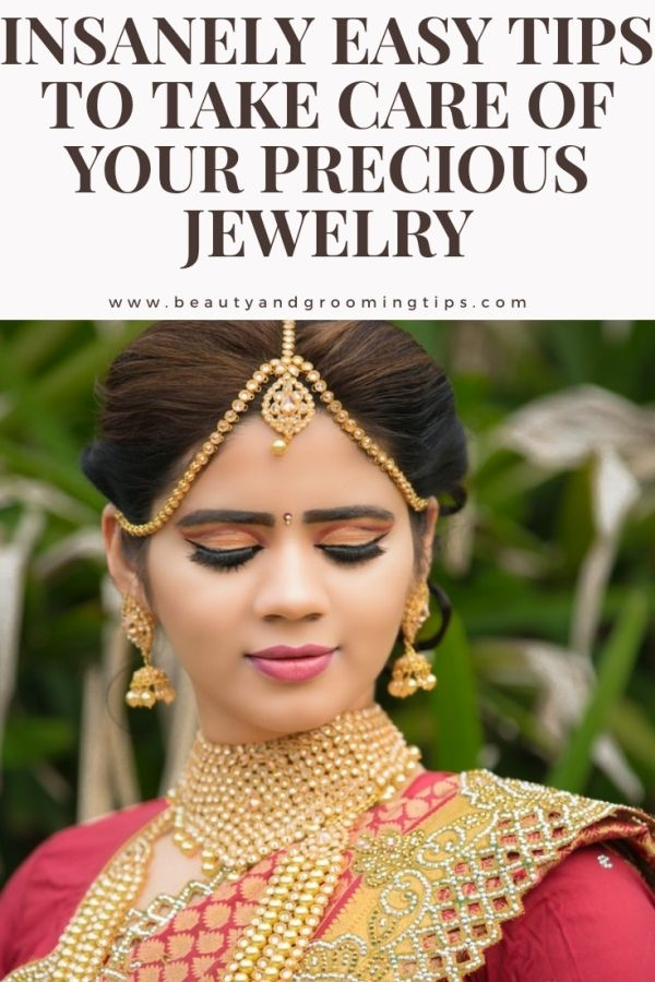 indian woman decked up in heavy jewellery or jewelry