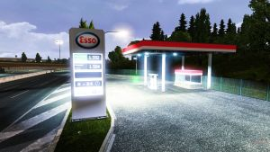 ETS2 Real Gas Prices V1.0.8