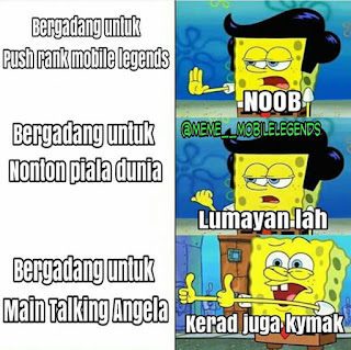 Meme begadang push rank mobile legends