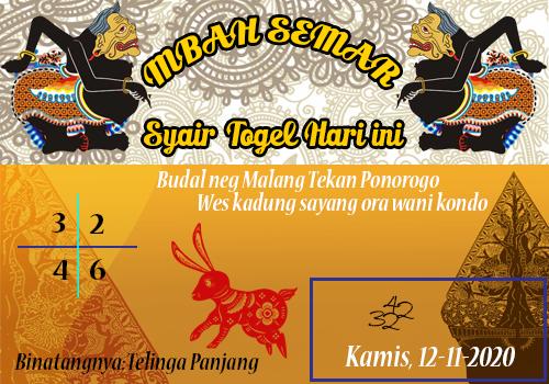 Syair Togel SGP Mbah Semar