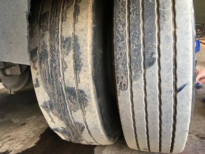 Desaparelhamento reduz em 30% vida de útil de pneus e aumenta consumo de combustível