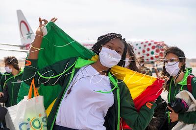Sahraouiya- un sport de nature et protection de l'environnement en solidarité avec les femmes par les femmes