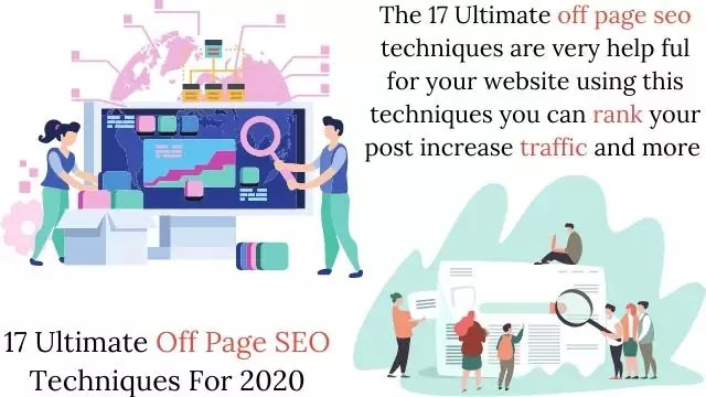 17 Ultimate Off Page SEO Techniques For 2020
