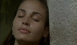 Inés Sastre in Antonioni's Beyond the Clouds