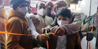लखनऊ के खुर्रम नगर इलाके में वीडियो विज़न स्टूडियो का प्रदेश अध्यक्ष व्यापार मंडल संजय गुप्ता ने किया उद्घाटन