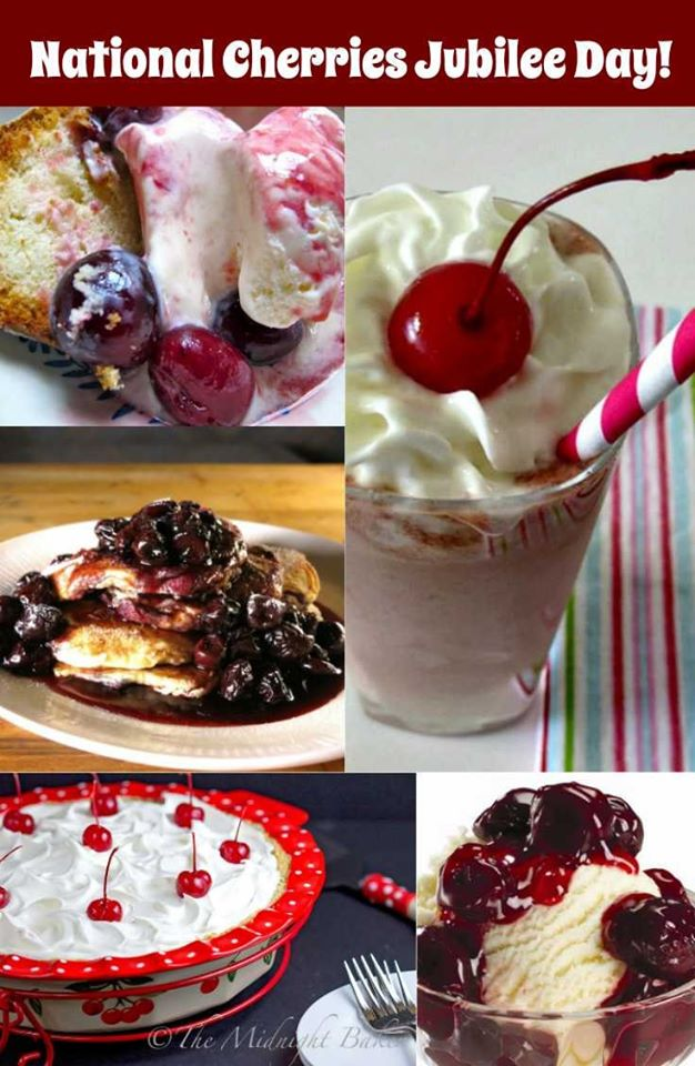 National Cherries Jubilee Day Wishes for Whatsapp