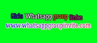 Girls Whatsapp groups links