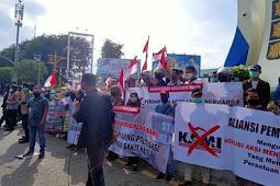 Pemuda Aceh Cinta Damai Tolak Keberadaan KAMI di Aceh, dan Kecam Emmanuel Macron