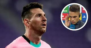 Lautaro Martinez reveals 'dream' of playing alongside Messi at Inter Milan