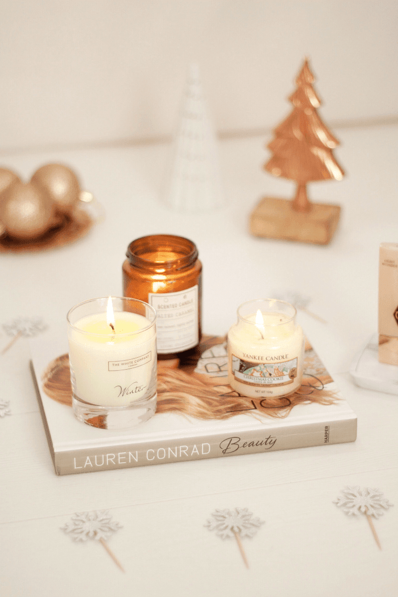 3 festive candles review