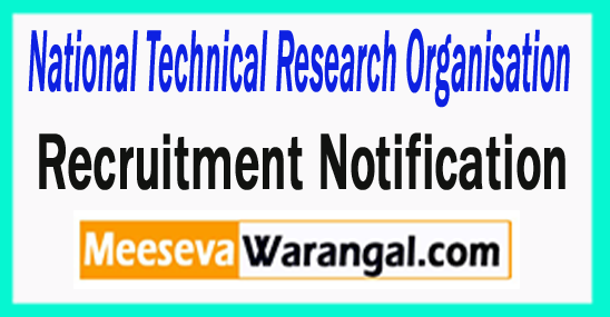 National Technical Research Organisation NTRO Recruitment 2017
