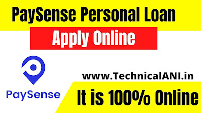 PaySense Personal Loan Apply Online
