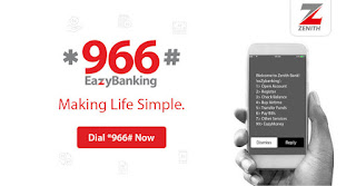 Zenith Bank transfer code