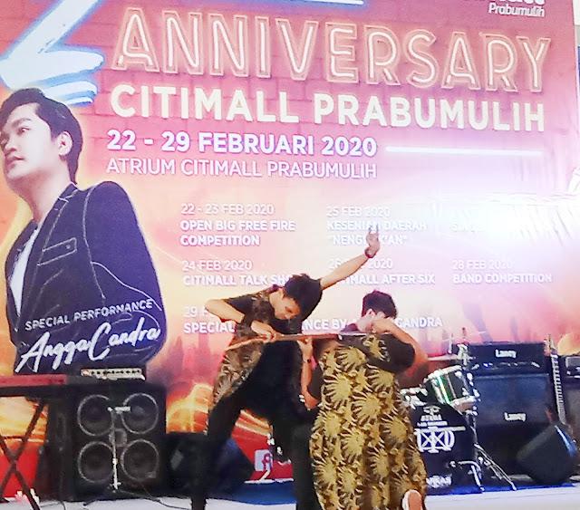 Perfomance Angga Candra Akan dibuka Oleh Pemenang Band Competition