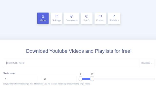 موقع لتحميل قائمة تشغيل كاملة من يوتيوب دفعة واحدة