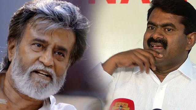 seeman says rajinikanth may start political party in some other country nixs news tamil