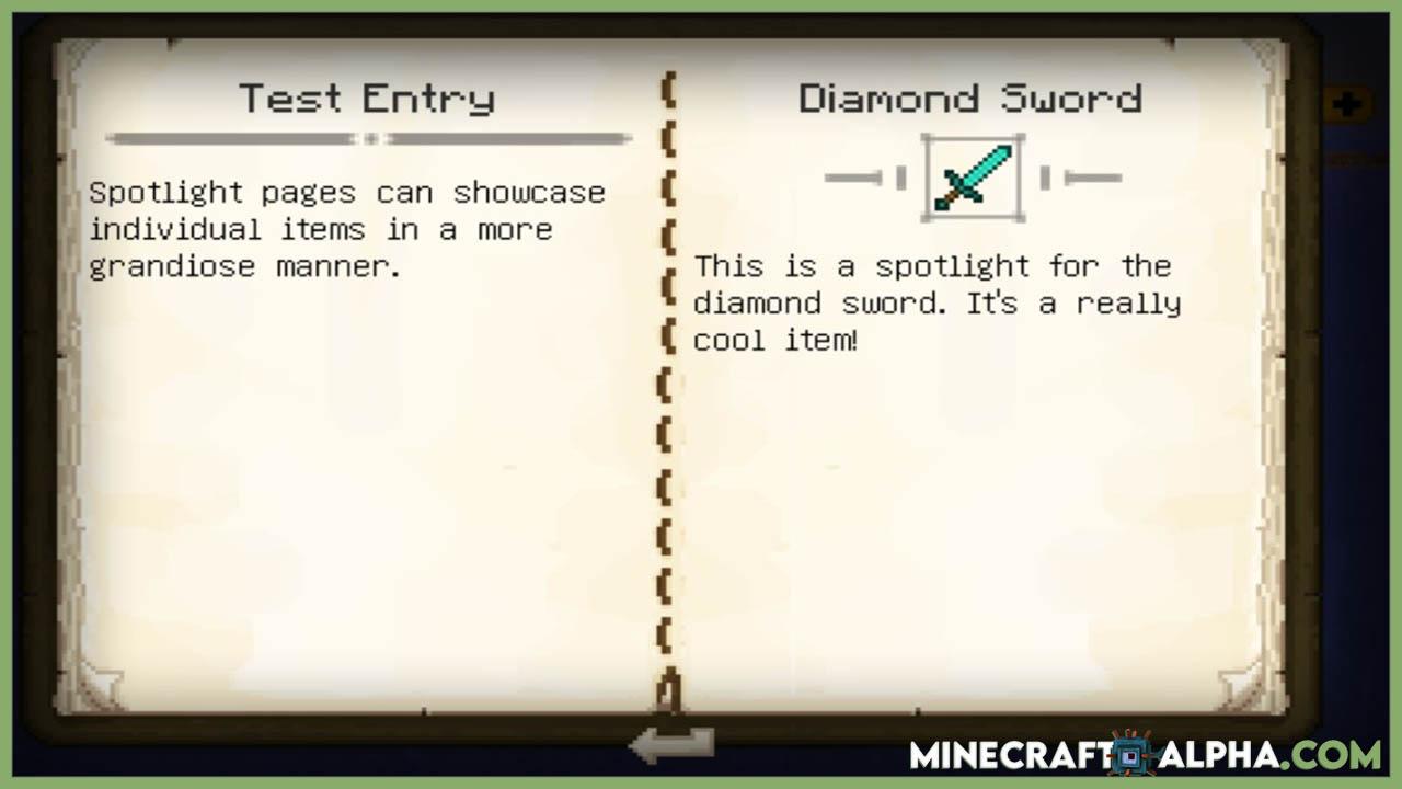 Minecraft New Patchouli Mod For1.16.5