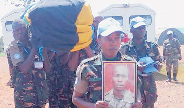 Miili ya Wanajeshi wa JWTZ Waliouawa DRC  Yaagwa