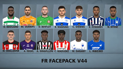 PES 2017 Facepack v44 by FR Facemaker