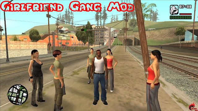 GTA San Andreas Girlfriend Gang Mod For Pc