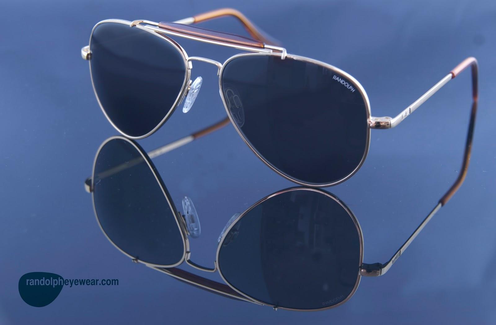 0eb84710e54d Randolph Eyewear makes the best quality sunglasses around. They make the  classic aviator look