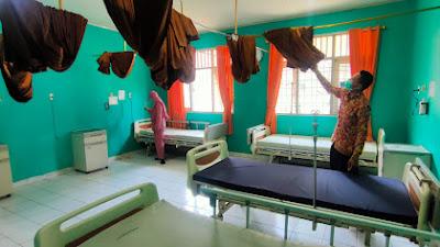 Pasien Covid-19 Melandai, RSUDAU Lampung Barat Tutup Ruang Isolasi