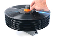 vertical record loading on CleanerVinyl Easy6