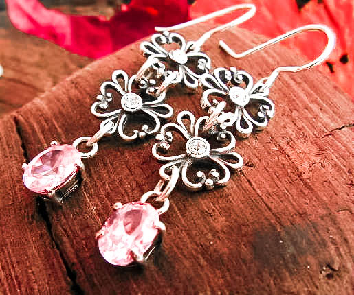 srebrna biżuteria pomysł na prezent