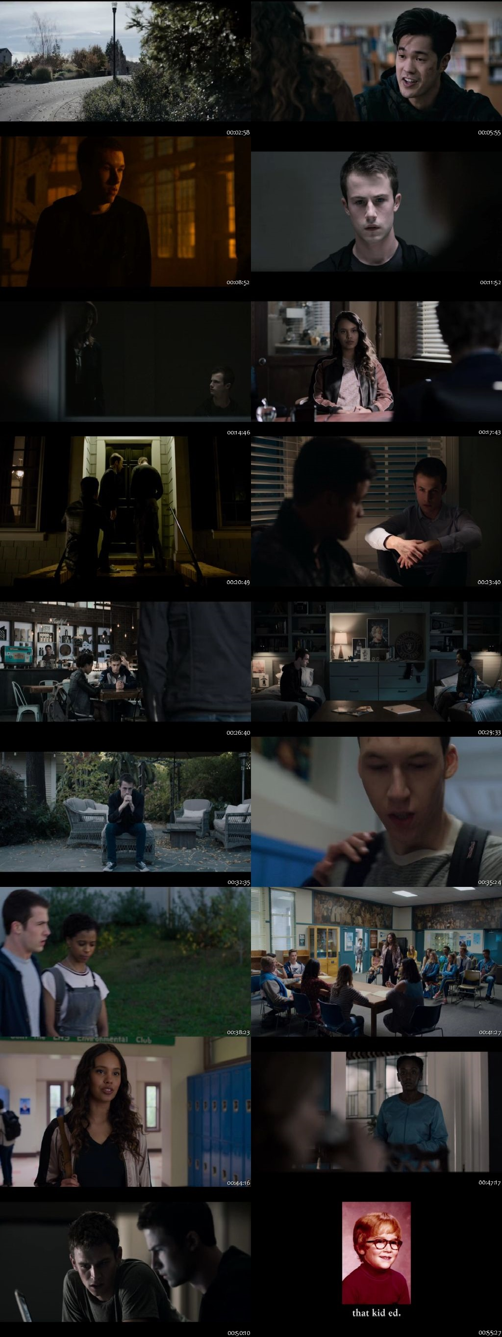Screenshots Of Hindi Dubbed Show 13 Reasons Why 2019 Season 03 Complete All Episodes 300MB 720P HD