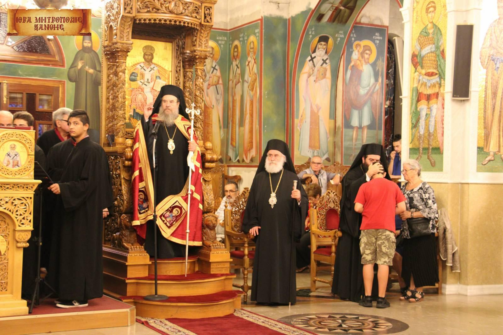 Φωτογραφίες από την υποδοχή της εικόνας της Παναγίας Αρχαγγελιωτισσης
