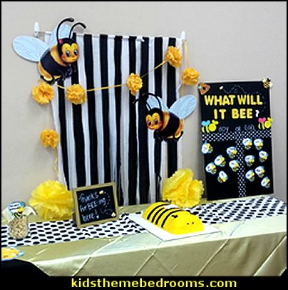 bee themed party - bumble bee decorations - Bumble Bee Party Supplies - bumble bee themed party - Pooh themed birthday party - spring themed party - bee themed party decorations - bee themed table decorations - winnie the pooh party decorations - Bumblebee Balloon -  bumble bee costumes