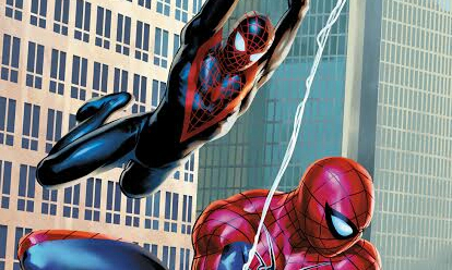 Spider-Men 2 First Look Release, Plus Variant Covers.